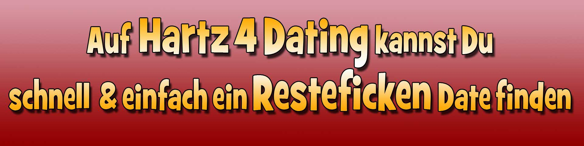 Hartz 4 Dating